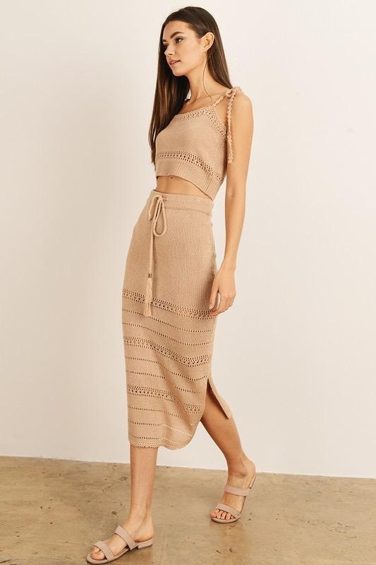 Constantine Knit Maxi Skirt