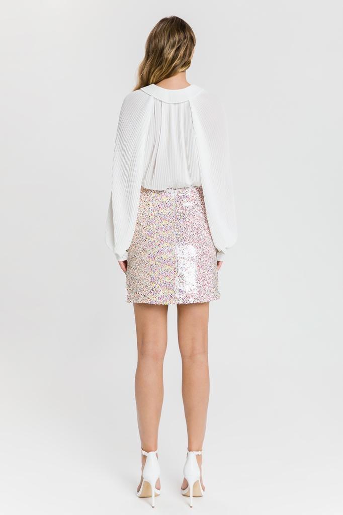 Confetti Slit Skirt