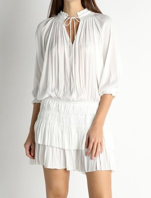 Fabia Pleated Dress