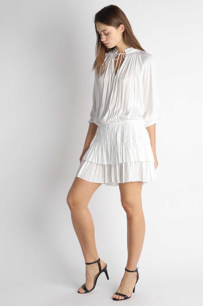 Fabia Pleated Dress