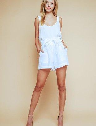 Meri Linen Shorts