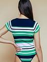 Mazu Stripe Bodysuit