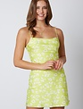 Chetah neon Mini Dress