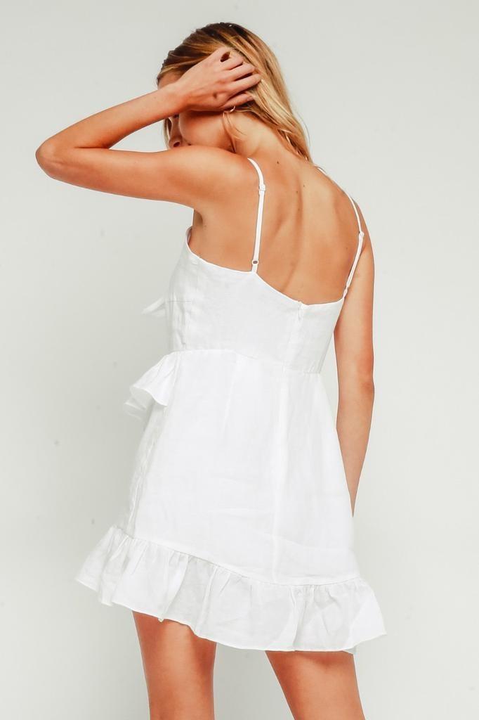 Atlas Linen Mini Dress