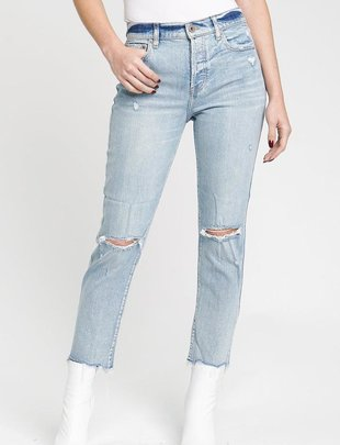 denim Charlie High Straight Leg