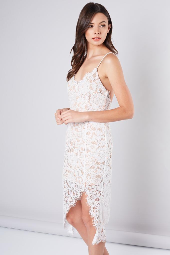 Dakota Lace Midi Dress