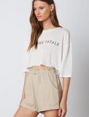 Mai Gauze Shorts