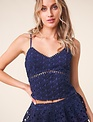 Sweet Summer Lace Cropped Cami