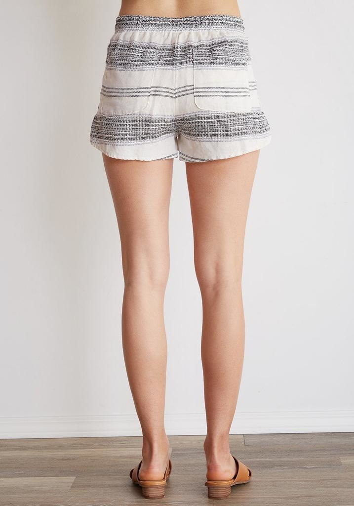 Button Side tulip Short