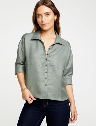Linen Shirttail