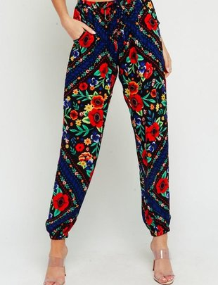 Gypsy Floral Pants