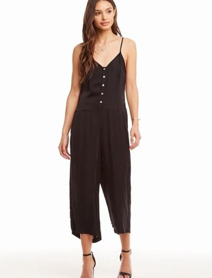 Silky Cropped Cami Jumpsuit
