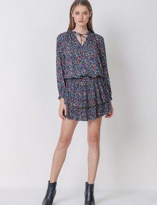 Star Multicolor Mini Dress