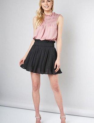 Dru Pleated Skirt