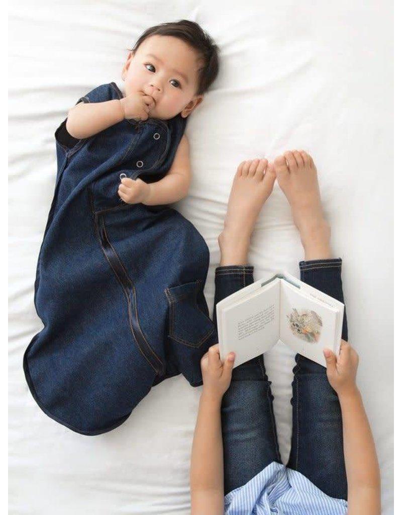 Sleepsack, Indigo Pocket, Size 0-6 Months