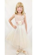 Dress, Satin Bodice w/Tulle Skirt, KD428