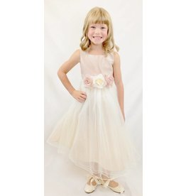 Dress, Satin Bodice w/Tulle Skirt, KD428