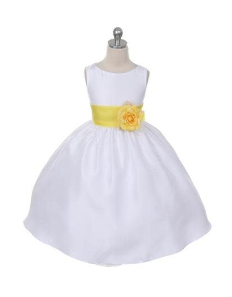 Dress, Organza Sash w/Flower