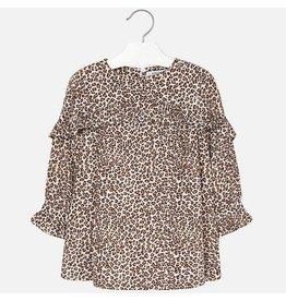 Dress, Leopard Print