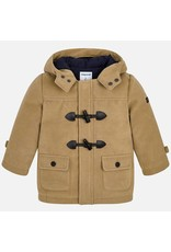 Coat, Toggle, Latte