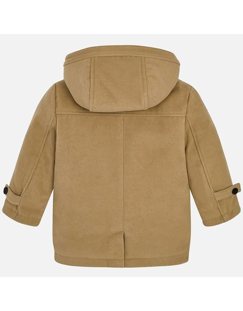 Coat, Toggle, Latte