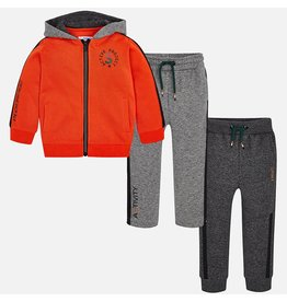 Tracksuit, 3 Piece, Bengal Orange