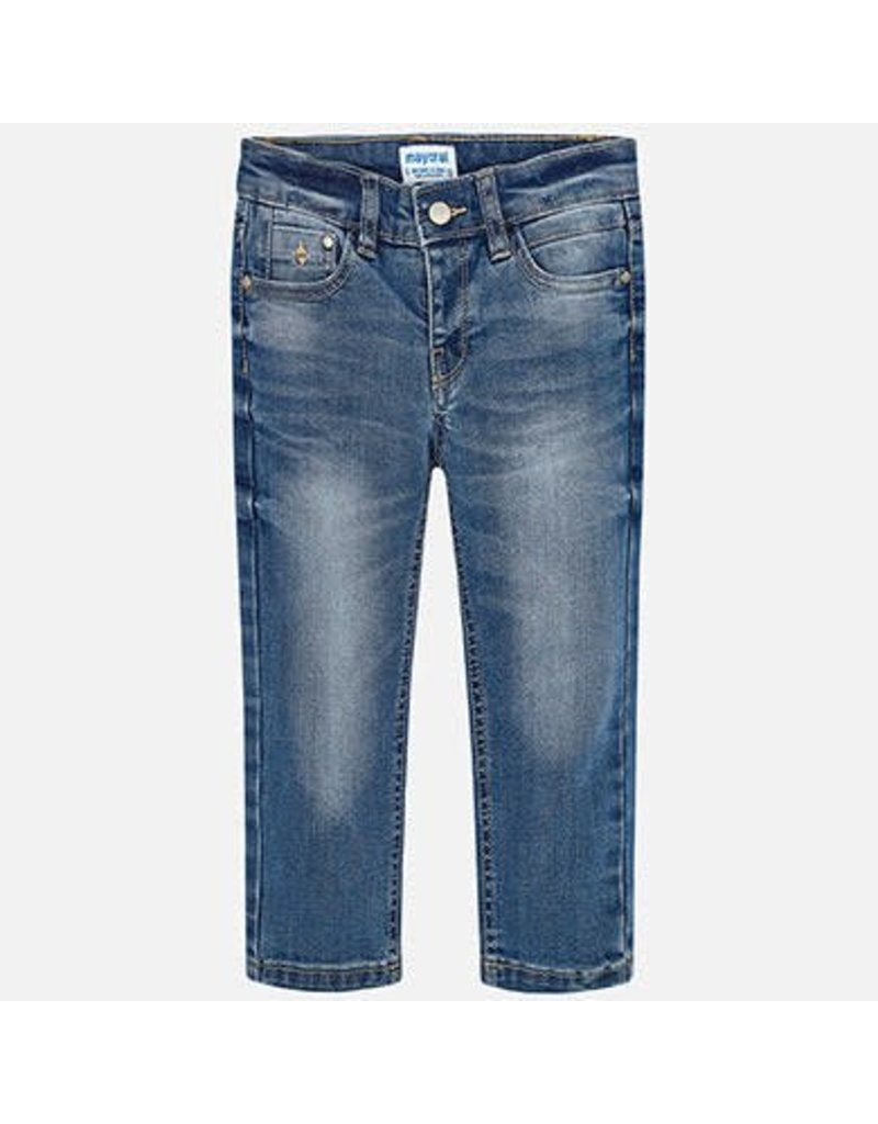 Jeans, 5 Pocket, Medium Rinse