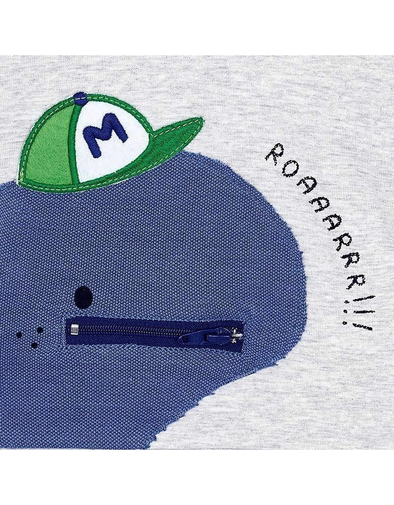 Shirt w/Jeans, Dinosaur Roar,