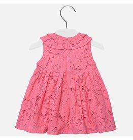 Dress, Lace Overlay,