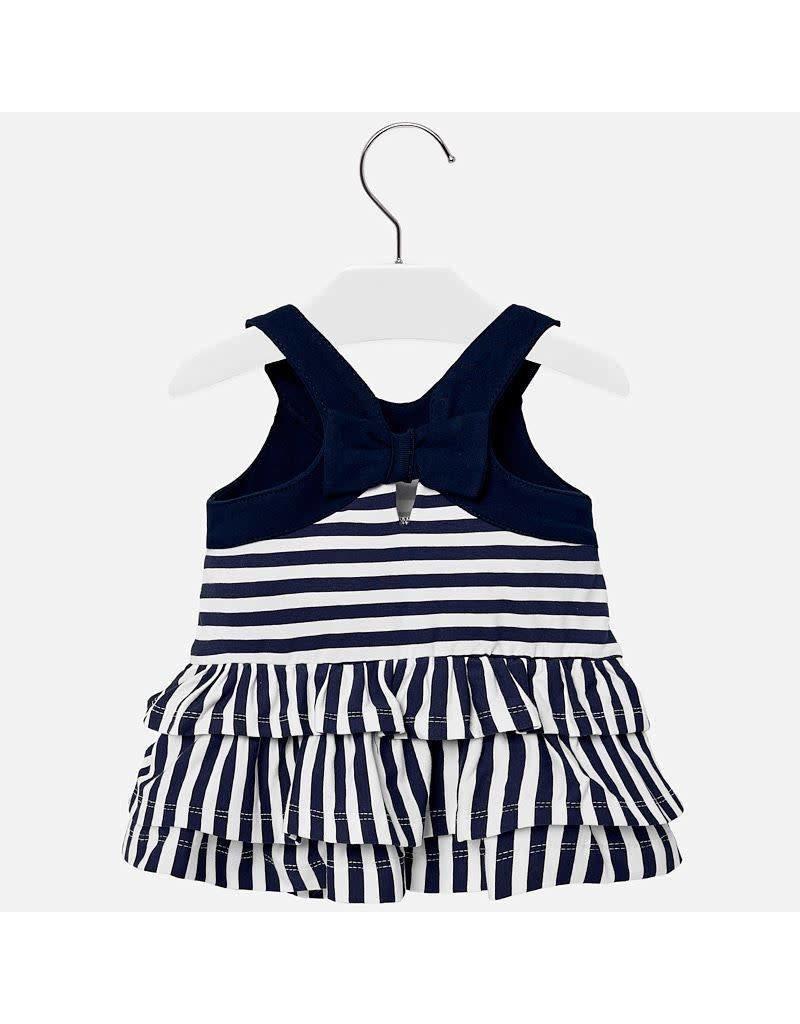 Dress, Stripe/Ruffle,