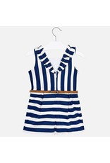 Romper, Navy/White Stripe,