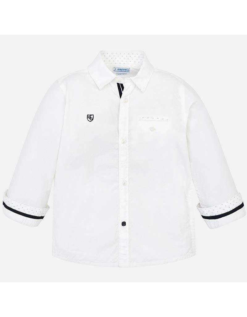 Shirt, Detailed, L/S,