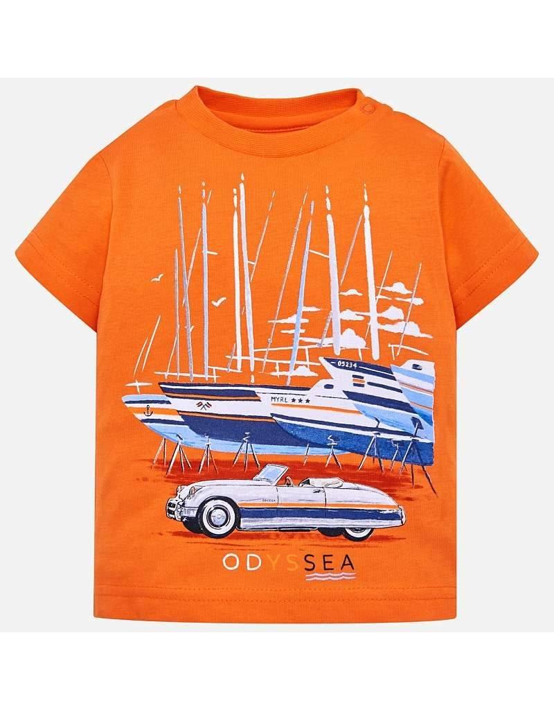 Tee w/Denim Shorts, Odyssea,