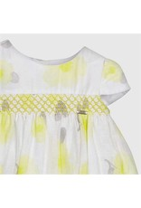 Dress w/Bloomers, Smocked, Floral,
