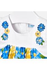 Dress w/Bolero, Floral Print,