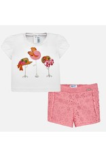 Shirt w/Shorts, Embroidered Hats,