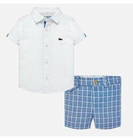 Linen Shirt w/Short,