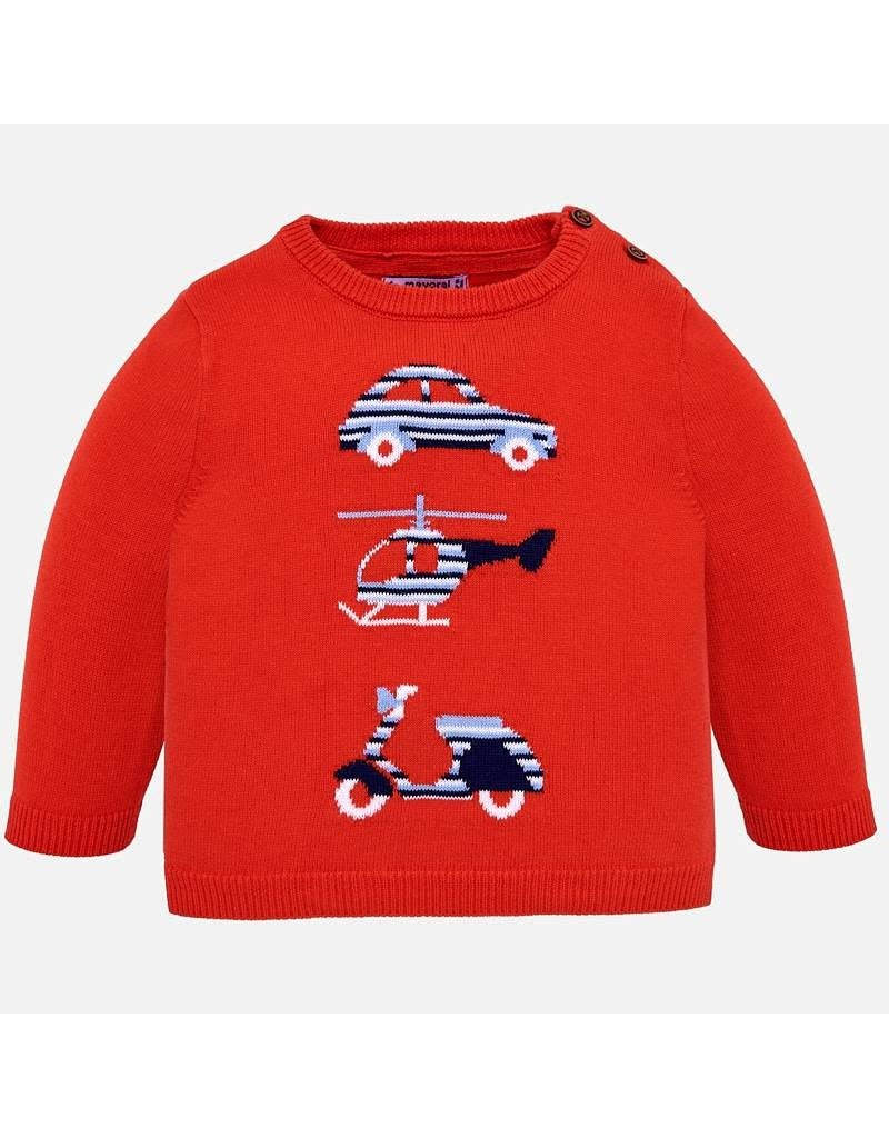 Sweater w/Pant, Car,  Copter & Scooter