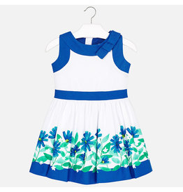 Dress, Royal Floral,