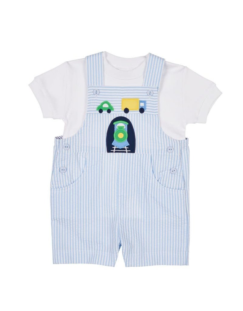 Shortall w/Shirt, Train/Cars,