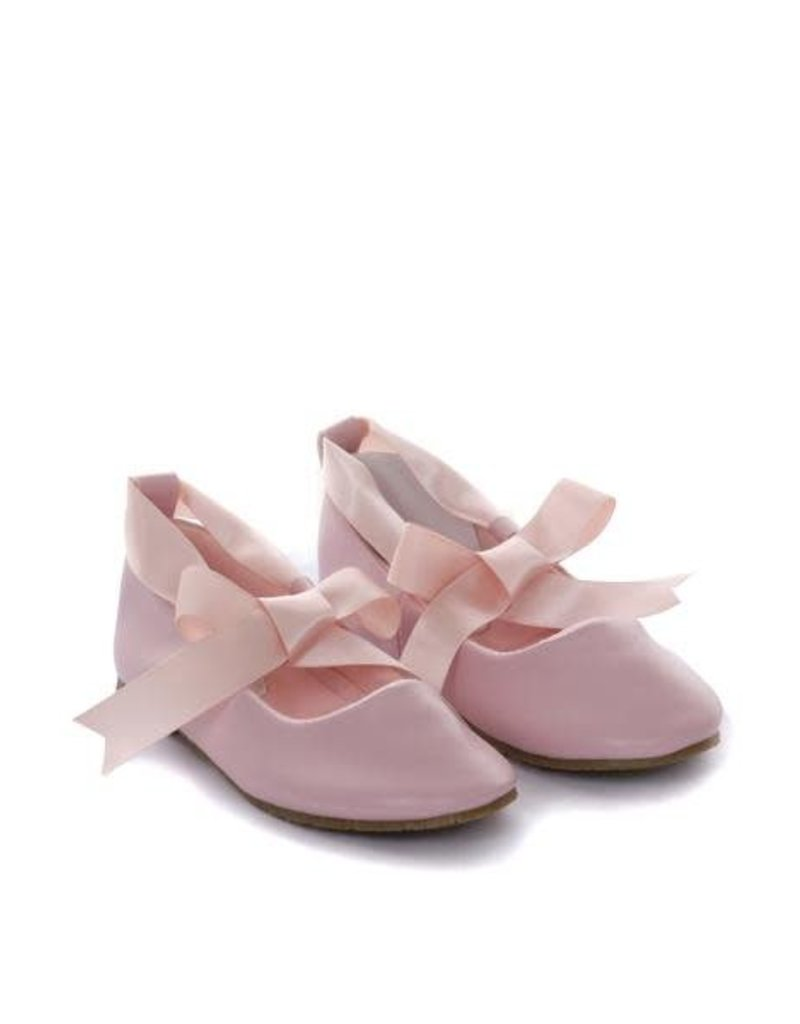 Ballerina Shoes w/Ankle Tie