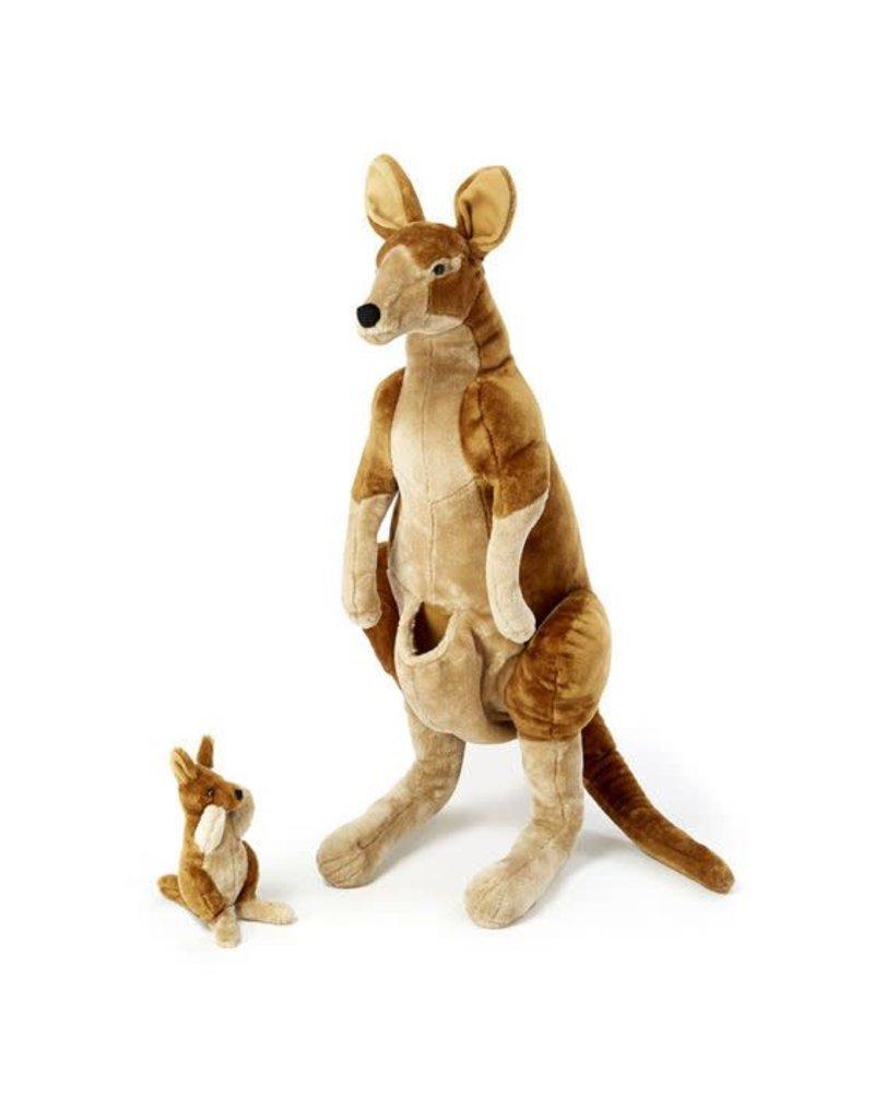 Kangaroo w/Joey, Plush, Large