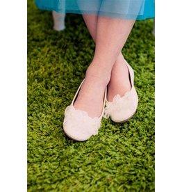 Ballerina Flats, Flowers/Pearls