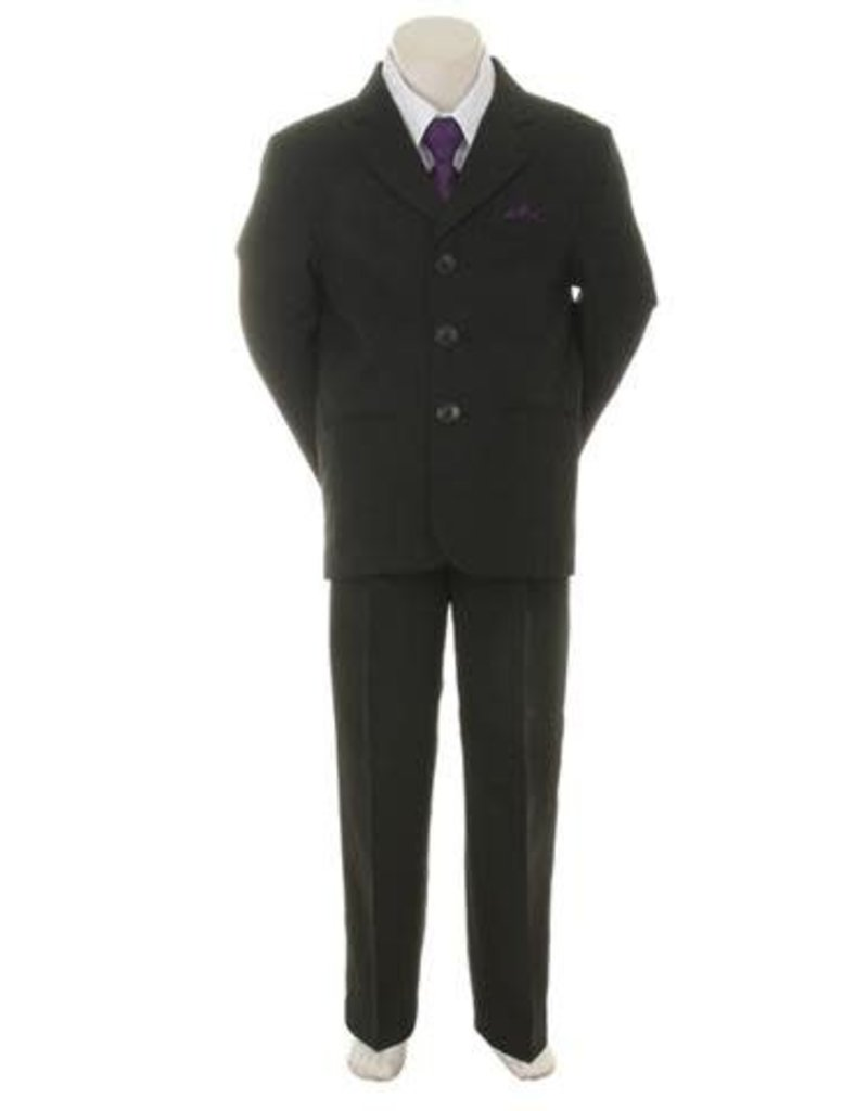 Suit/Vest/Shirt/Tie/Pants Set