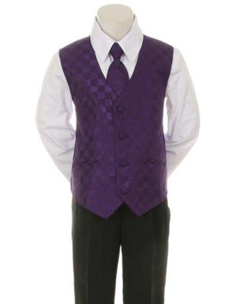 Suit/Vest/Shirt/Tie/Pants Set