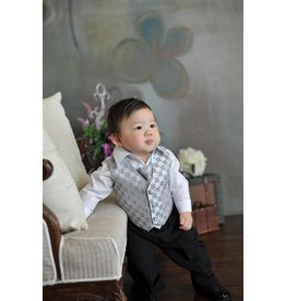 Suit/Vest/Shirt/Tie/Pants Set, KD5006, Sz 6 mo. to 24 mo.