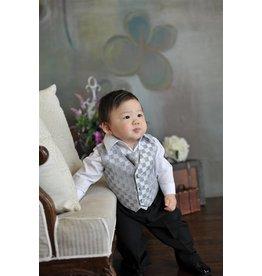 Suit/Vest/Shirt/Tie/Pants Set, Sz 6 mo. to 24 mo.