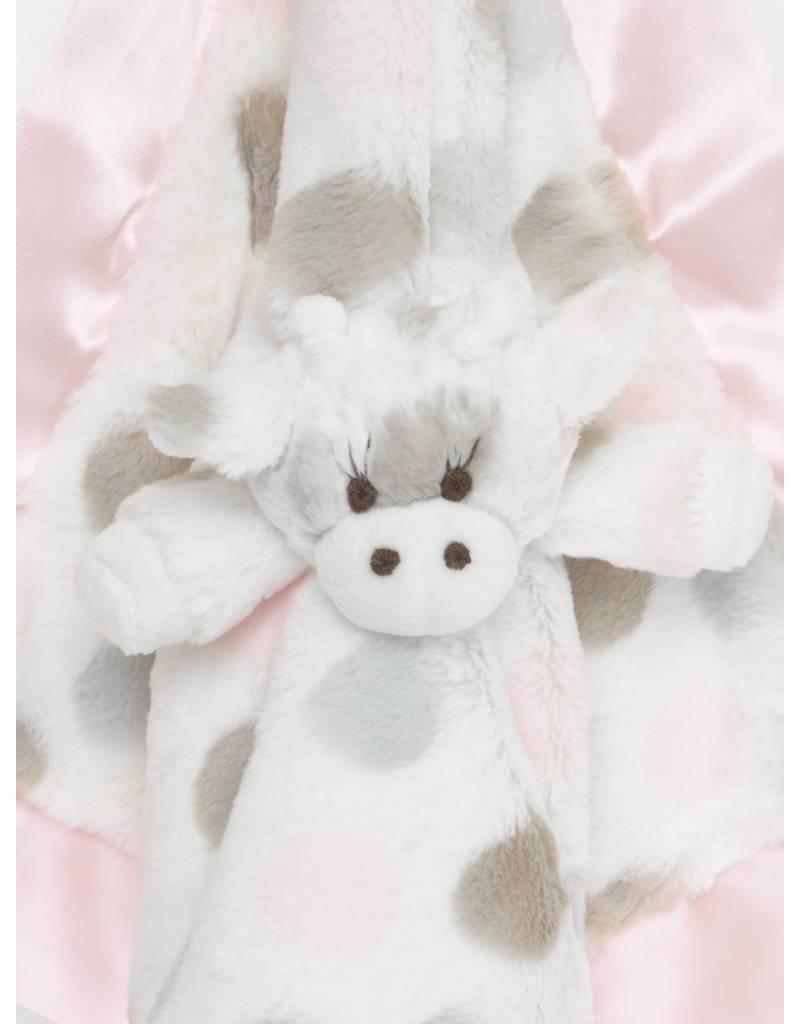 Blanky, Luxe Dot Plush, Giraffe