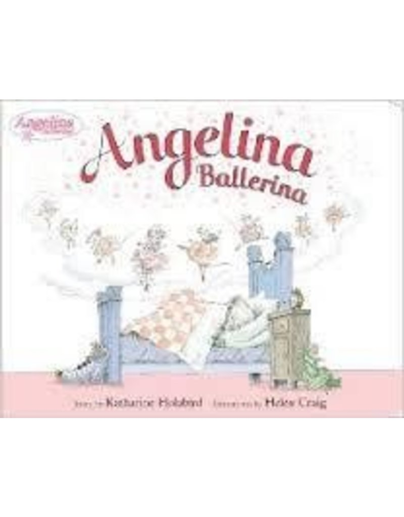 Pajamas w/Book, Angelina Ballerina
