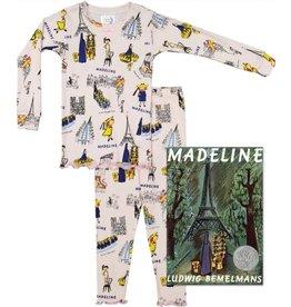 Pajamas w/Book, Madeline